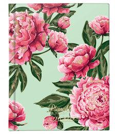 Diák tervező naptár B6 - 2021-2022 - Pink Flower