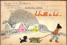 Fazekas Anna - Hull a hó [antikvár]