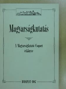 Arday Lajos - Magyarságkutatás 1987 [antikvár]
