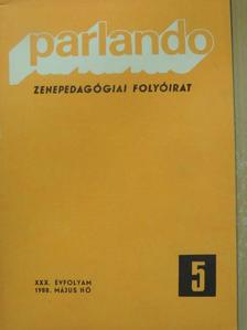 Baróti Géza - Parlando 1988. május [antikvár]