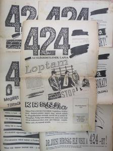 Danó Anna - 424 Ifjúsági Hetilap 1989. (nem teljes évfolyam) [antikvár]