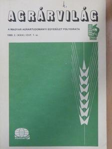 Dr. Bozó Sándor - Agrárvilág 1989. március [antikvár]