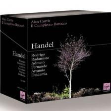 Handel - RODRIGO, RADAMISTO, ADMETO, FERNANDO, ARMINIO, DEIDAMIA 15CD CURTIS
