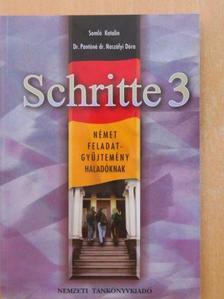 Dr. Pantóné Dr. Naszályi Dóra - Schritte 3 [antikvár]