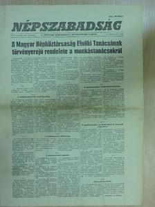 Kiss Sándor - Népszabadság 1956. november 22. [antikvár]