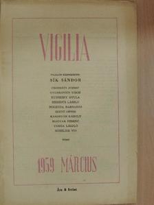 Cserháti József - Vigilia 1959. március [antikvár]
