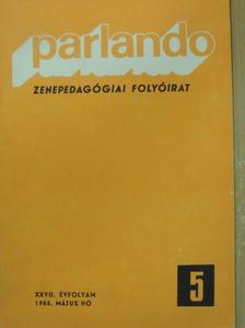 Barna István - Parlando 1985. május [antikvár]