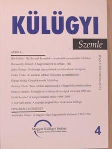 Andreides Gábor - Külügyi Szemle 2008/4. [antikvár]