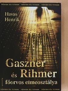 Havas Henrik - Gaszner és Rihmer főorvos elmeosztálya [antikvár]