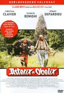 CLAUDE ZIDI - ASTERIX ÉS OBELIX DVD SZÉLESVÁSZNÚ VÁLT. CLAVIER,DEPARDIEU,BENIGNI,CASTA