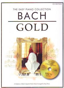 J. S. Bach - BACH GOLD THE EASY PIANO COLLECTION + CD