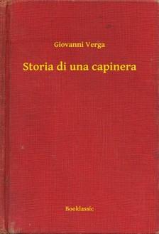 Giovanni Verga - Storia di una capinera [eKönyv: epub, mobi]