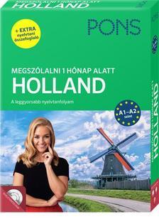 Berna de Boer, Birgit Lijmbach - PONS Megszólalni 1 hónap alatt - Holland (online letölthető hanganyag + extra nyelvtani összefoglaló)