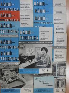 Bassó Andor - Rádiótechnika 1979. január-december [antikvár]