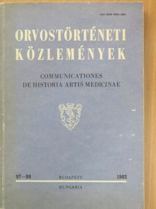 Birtalan Győző - Orvostörténeti közlemények 97-99 [antikvár]