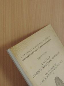 Bakos József - A magyar Comenius (Komensky)-irodalom II. [antikvár]