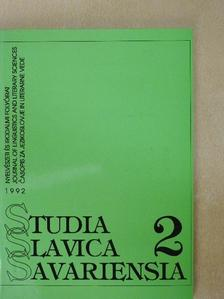 Alojz Jembrih - Studia Slavica Savariensia 1992./2. [antikvár]