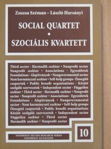Harsányi László - Szociális kvartett [antikvár]