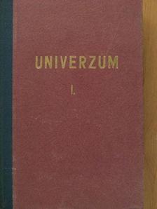 Dr. Székely Sándor - Univerzum (vegyes számok) (12 db) I-II. [antikvár]