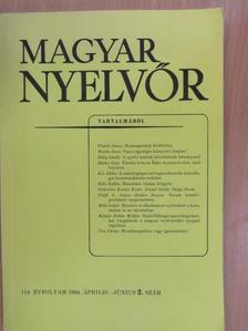 Balázs Géza - Magyar Nyelvőr 1994. április-június [antikvár]