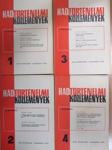Ács Tibor - Hadtörténelmi Közlemények 1970/1-4. [antikvár]