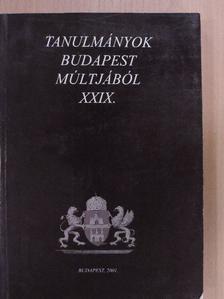 Alföldy Gábor - Tanulmányok Budapest múltjából XXIX. [antikvár]