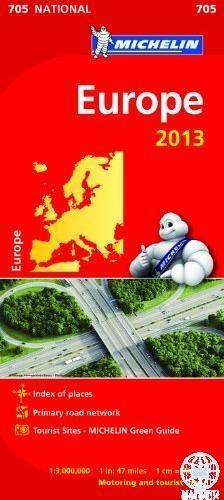 Michelin - Európa autótérkép 2013