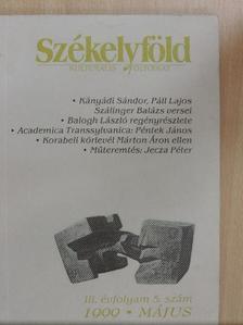 Balogh László - Székelyföld 1999. május [antikvár]