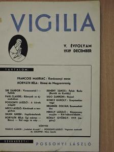 Demény János - Vigilia 1939. december [antikvár]