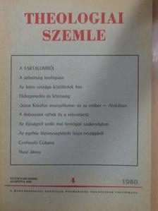 Békefi Lajos - Theologiai Szemle 1980. július-augusztus [antikvár]