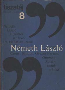 Németh László - Tiszatáj 1985/8. [antikvár]
