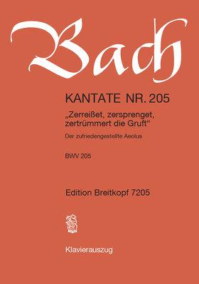 "J. S. Bach - KANTATE NR.213 HERCULES AUF DEM SCHEIDENWEGE ""LAßT UNS SORGEN, LAßT UNS WACHEN BWV 213,KLAVIERAUSZUG"