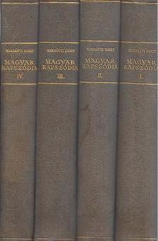 Harsányi Zsolt - Magyar rapszódia I-IV. [antikvár]