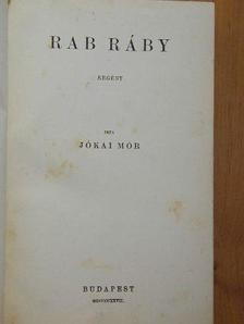 Jókai Mór - Rab Ráby [antikvár]