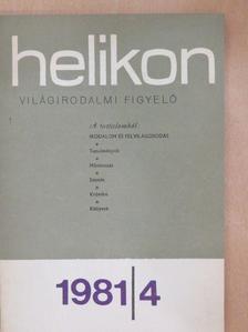 Beatrice Didier - Helikon 1981/4. [antikvár]