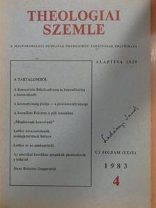 Alekszej Arbatov - Theologiai Szemle 1983/4. [antikvár]