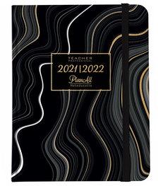 Tanári tervező naptár B5 2021-2022 - Black waves