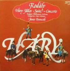 Kodály Zoltán - HÁRY JÁNOS SUITE (1927); CONCERTO FOR ORCHESTRA (1939) CD CONDUCTED BY FERENCSIK JÁNOS