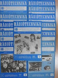 Ferenczi Ödön - Rádiótechnika 1987. január-december [antikvár]