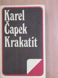 Karel Čapek - Krakatit [antikvár]