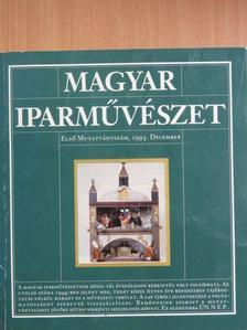 Benoschofsky Ilona - Magyar Iparművészet 1993. december [antikvár]
