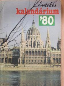 Mándy Iván - Érdekes Kalendárium 1980 [antikvár]