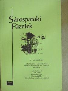 Berényi József - Sárospataki Füzetek 2002/2. [antikvár]