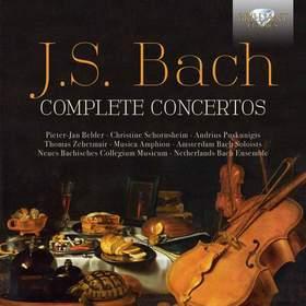 Bach - COMPLETE CONCERTOS 9CD