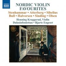 STENHAMMAR, ATTERBERG, SIBELIUS - NORDIC VIOLIN FAVOURITES CD