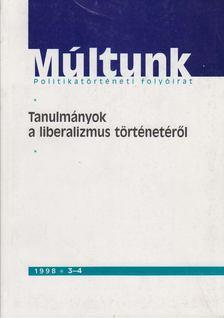 Moharos Éva (szerk.) - Múltunk 1998/3-4. [antikvár]