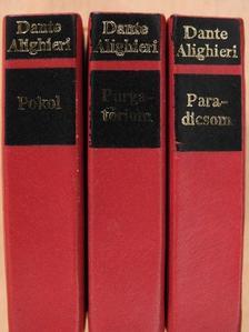 Dante Alighieri - Az isteni színjáték I-III. (minikönyv) [antikvár]