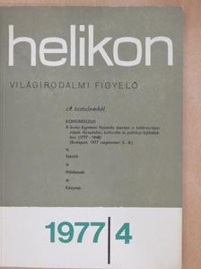 B. Mészáros Vilma - Helikon 1977/4. [antikvár]