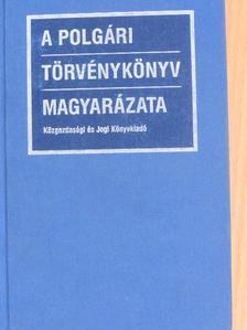 Benedek Károly - A polgári törvénykönyv magyarázata 1. (töredék) [antikvár]