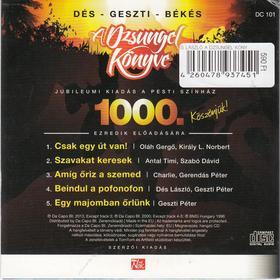Dés László, Geszti Péter - A DZSUNGEL KÖNYVE - CD - JUBILEUMI KIADÁS 5 DALLAL AZ EZREDIK ELŐADÁSRA